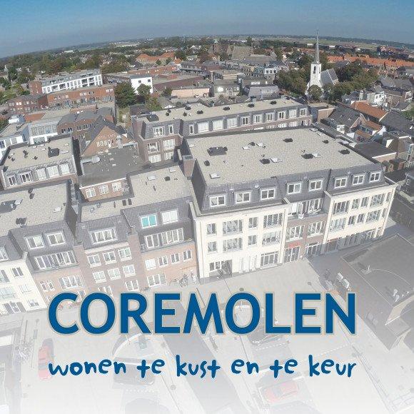 Nieuwbouw 128 startersappartementen Coremolen Noordwijkerhout