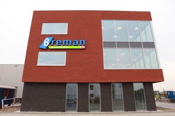 Nieuwbouw kantoor Breman Berkel en Rodenrijs