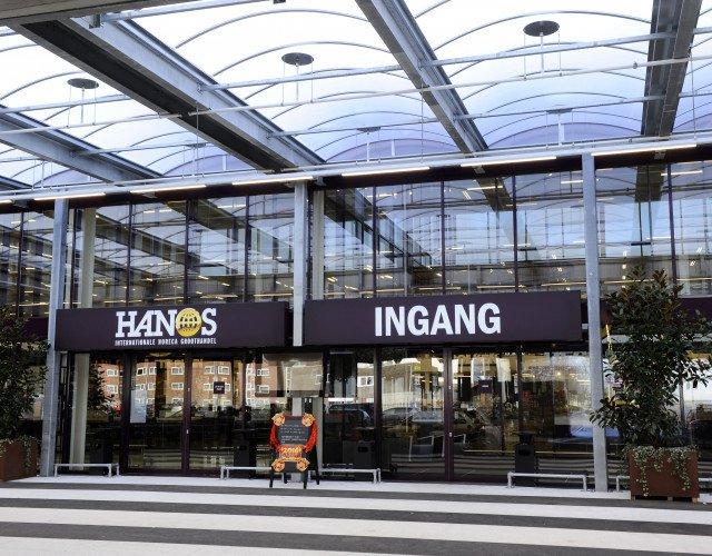 entree distributiecentrum zelfbedieningsgroothandel HANOS Delft