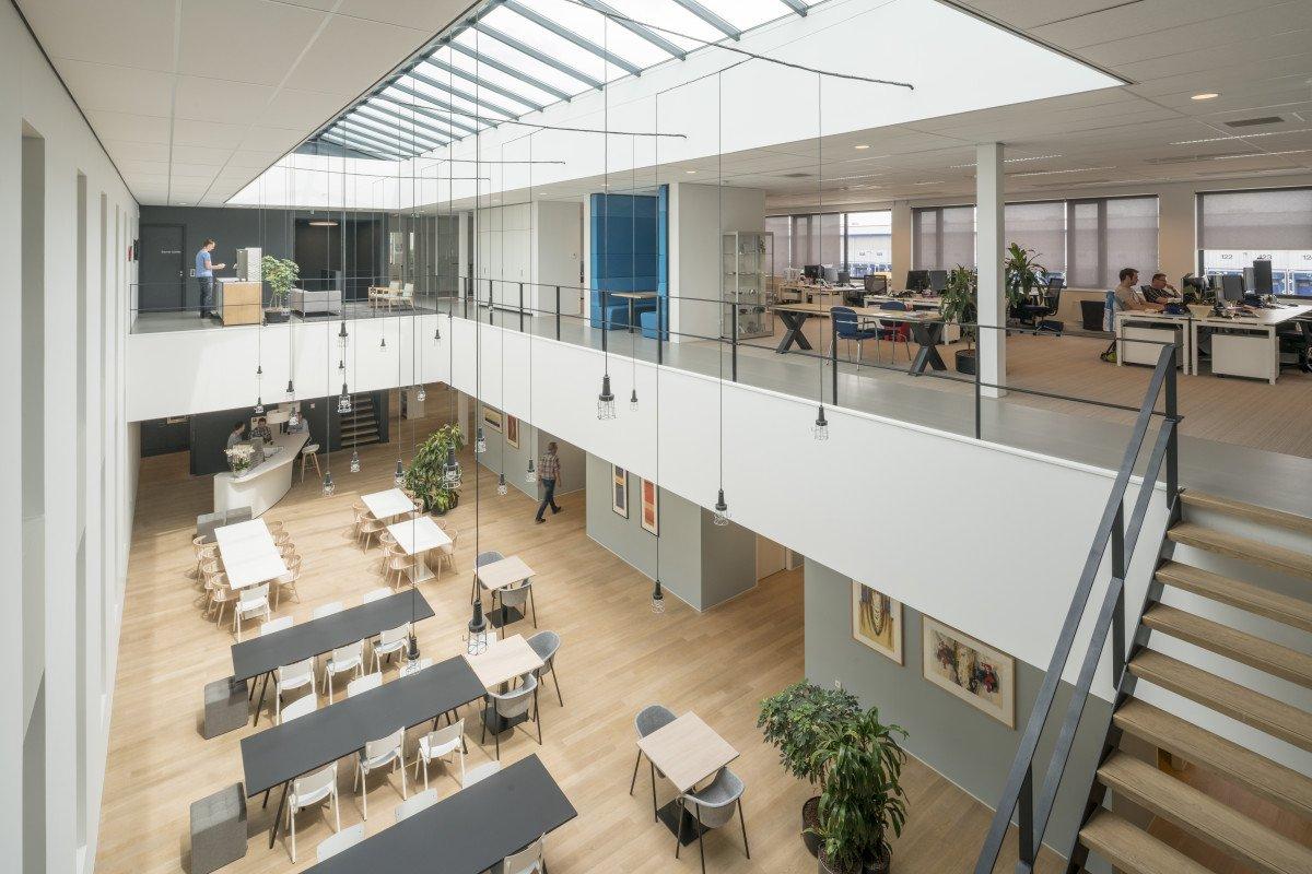 Nieuwbouw huisvesting Hittech Multin Ypenburg kantoor