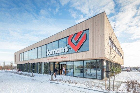 Nieuwbouw kantoor Lomans Capelle a/d IJssel