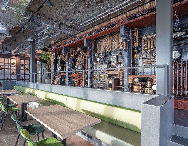 interieur kantoor Lomans Capelle a/d IJssel