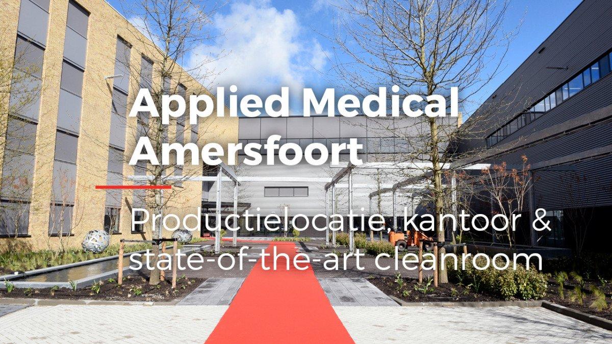 video video realisatie Europees hoofdkantoor en productielocatie met kantoor Applied Medical