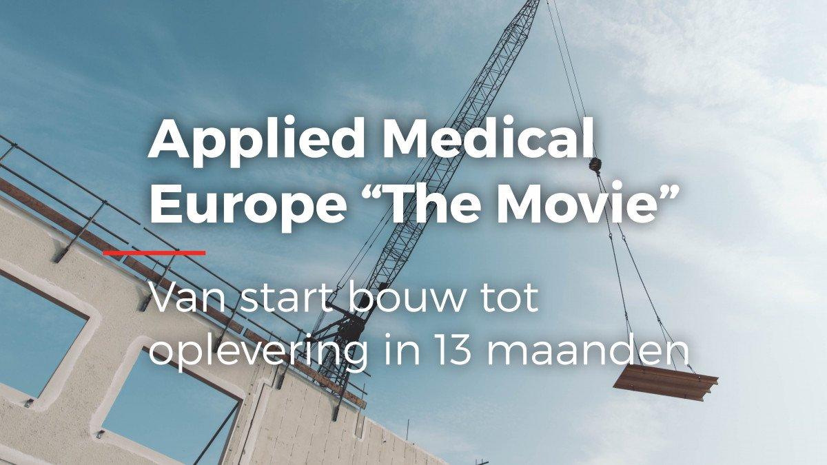 video realisatie Europees hoofdkantoor en productielocatie met kantoor Applied Medical