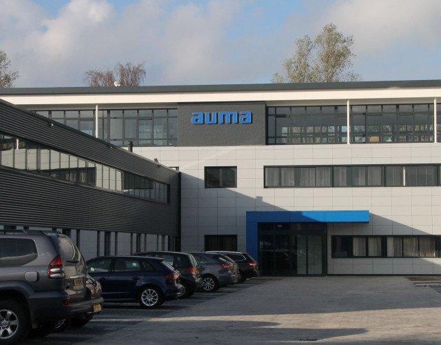 Uitbreiding kantoor AUMA Benelux Leiden