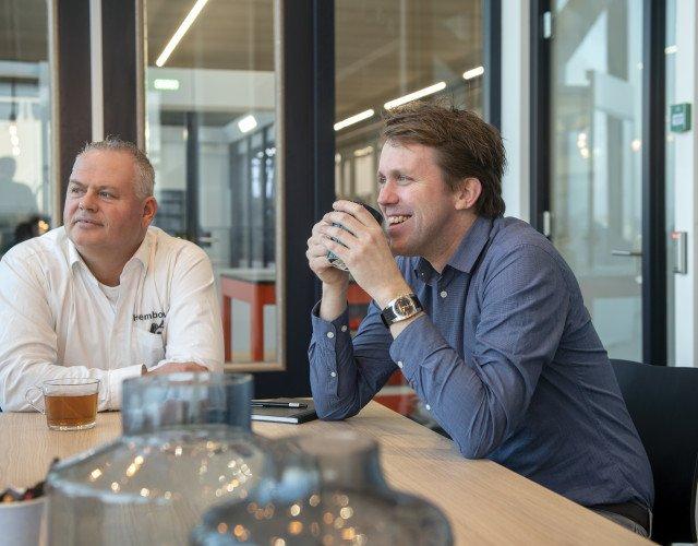 Rogier Kant Architect distributiecentrum met kantoor Plieger Amstelveen