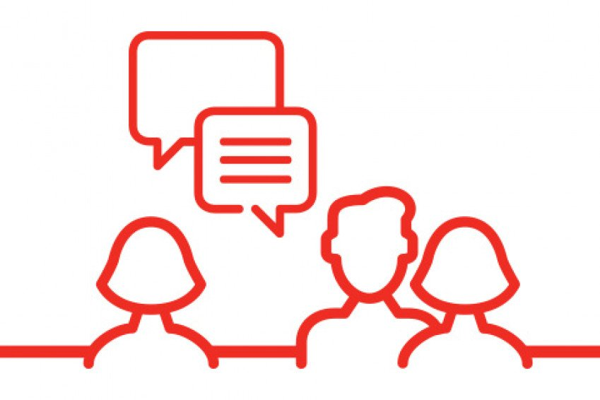 icon tweede gesprek voor sollicitatieprocedure bij Heembouw