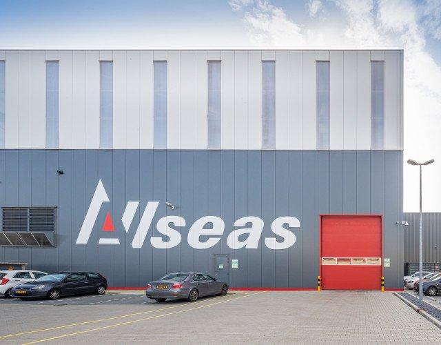 productiefaciliteit met kantoor Allseas Heijningen