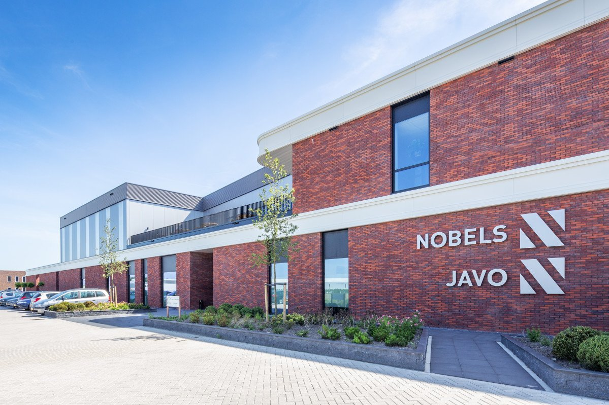 De huisvesting van Javo, Javo International en Nobels machinefabriek