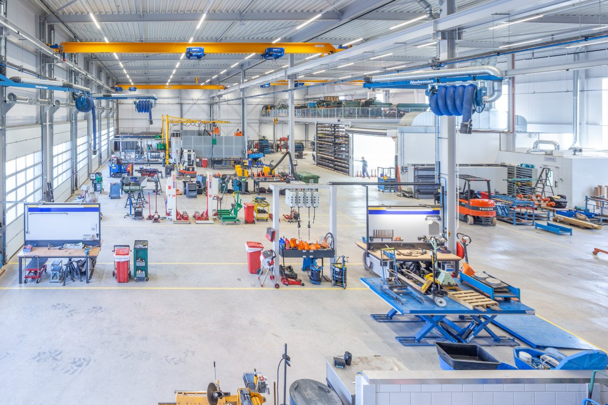 Het pand van Agro Techniek Holland