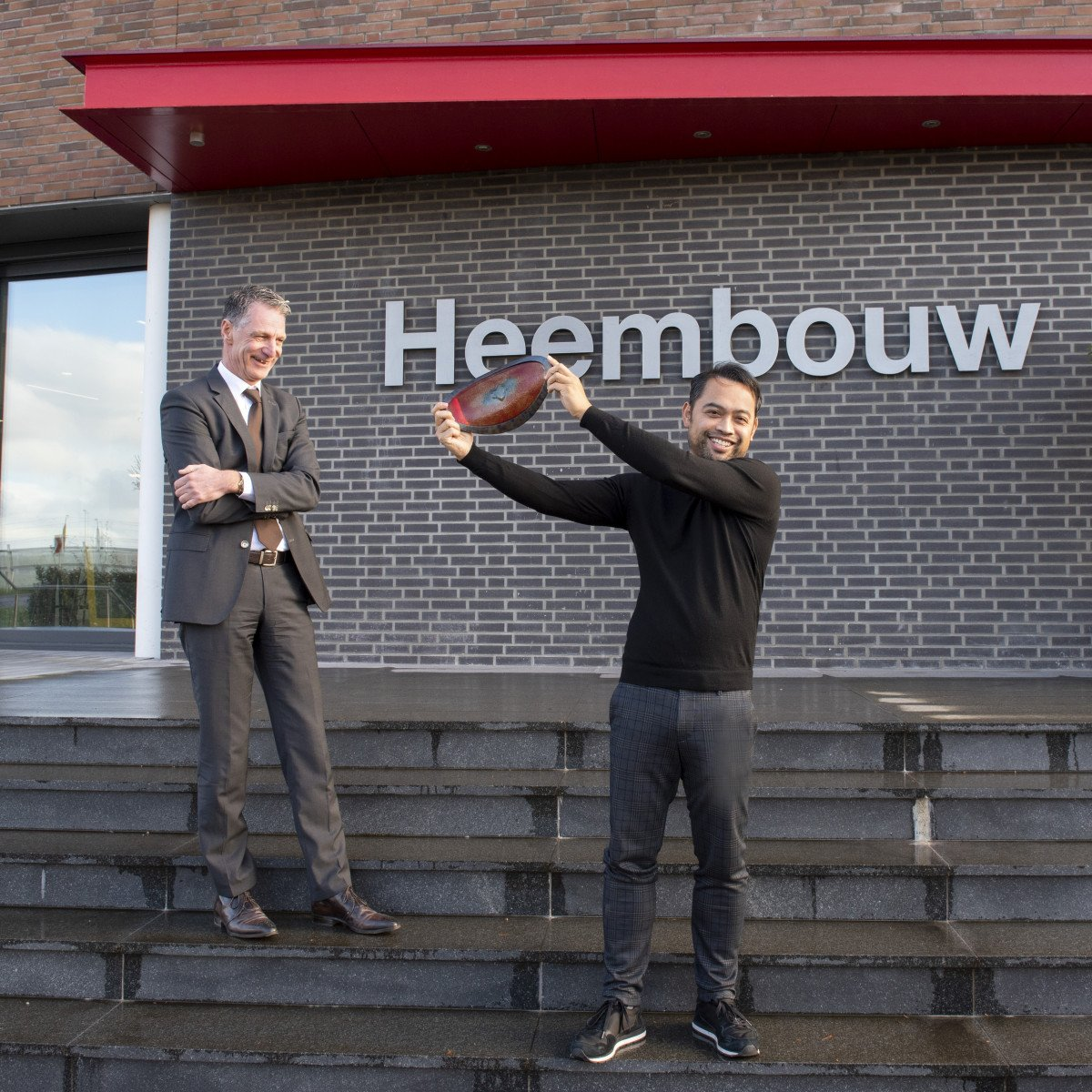 Nationale staalprijs voor duurzaam distributiecentrum met kantoor New Logic 3 in Tilburg